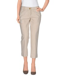 Phard Trousers 3 4 Length Trousers Women Beige