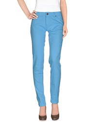 Basicon Trousers Casual Trousers Women Sky Blue