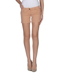 Elisabetta Franchi Gold Denim Shorts Salmon Pink