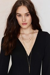 Nasty Gal Spike It Or Not Layered Necklace