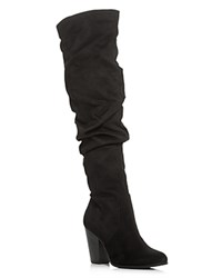Carlos By Carlos Santana Hazey Over The Knee High Heel Boots Compare At 139 Black