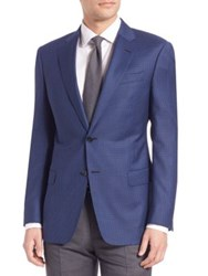 Armani Collezioni Wool Houndstooth Sportcoat
