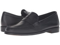 Sebago Heritage Penny Black Oiled Waxy Leather Men's Shoes