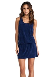 Splendid Terry Cover Up Navy