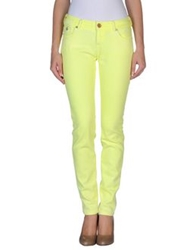 Maison Scotch Denim Pants Yellow