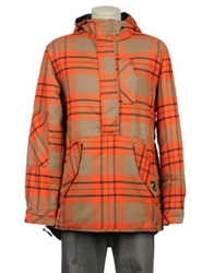 Analog Mid Length Jackets Orange