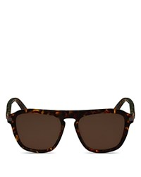 Salvatore Ferragamo Square Keyhole Bridge Sunglasses
