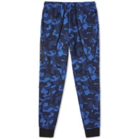 Nike Tech Fleece Camo Jogger Blue