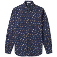 Engineered Garments Short Collar Shirt Blue