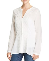 Sanctuary Lost In Paris Embroidered Tunic White