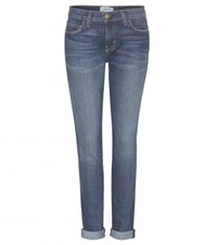 Current Elliott The Rolled Skinny Jeans Blue