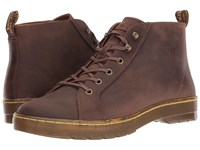 Dr. Martens Coburg 6 Eye Leather Ltt Boot Gaucho Crazy Horse Lace Up Boots Brown