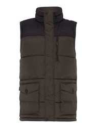 Army And Navy Gus Full Zip Gilet Slate