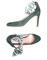 Carven Pumps Emerald Green