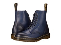 Dr. Martens Pascal 8 Eye Boot Navy Temperley Men's Lace Up Boots Blue