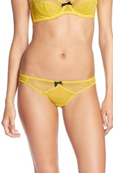 Lagent By Agent Provocateur 'Carla' Thong Yellow