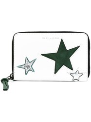 Marc Jacobs 'Star Patchwork' Phone Wallet White
