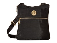 Baggallini Gold Hanover Crossbody Black Cross Body Handbags