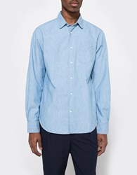 Officine Generale Visconti Italian Chambray Bleached