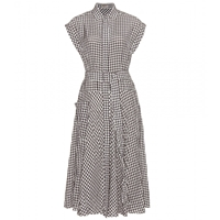 Bottega Veneta Gingham Shirt Dress