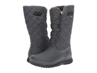 Bogs Juno Lace Tall Dark Grey Women's Cold Weather Boots Gray