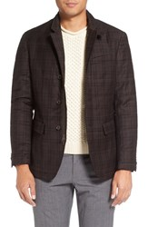 Singer Sargent Men's Quilted Plaid Wool Blazer