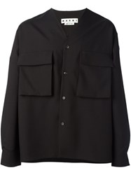 Marni V Neck Shirt Black