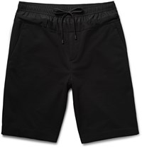 Public School Panelled Fleece Back Jersey Shorts Black