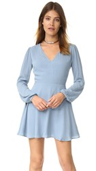 Lovers Friends Shimmy Dress Dusty Blue