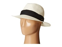 Scala Toyo Safari With Black 3 Pleat Cotton Band Natural Safari Hats Beige