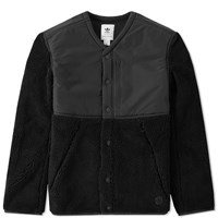 Adidas X Wings Horns Sherpa Jacket Black