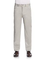 Vince Camuto Slim Fit Core Chino Pants Grey