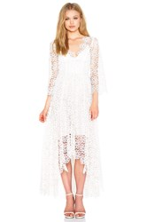 Zimmermann Empire Guipure Dress Ivory
