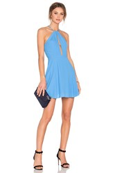 Lovers Friends X Revolve Journey Fit And Flare Dress Blue