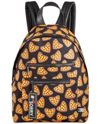 Circus By Sam Edelman Canvas 'Pizza' Backpack Black