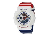G Shock Ba 110Tr 7Acr White Red Blue Watches Multi