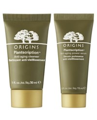 Origins Receive A Free Plantscription Anti Aging Duo With Any 55 Purchase