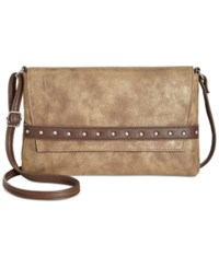 Styleandco. Style Co. Shaunee Flap Crossbody Only At Macy's Bronze