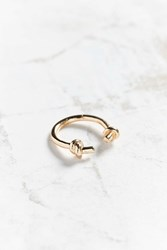 Urban Outfitters Double Knot Ring Gold