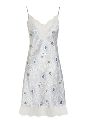 Alice By Temperley Somerset By Alice Temperley Folk Floral Print Chemise Blue Multi