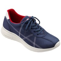 Hotter Solar Lightweight Trainers Royal Blue
