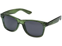 Vans Spicoli 4 Shades Grape Leaf Tortoise Sport Sunglasses Green
