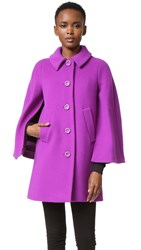 Boutique Moschino Coat Purple