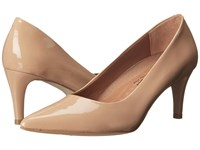 Walking Cradles Sophia New Nude Patent High Heels Beige