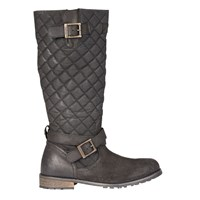 Barbour Holford Knee High Boots Black