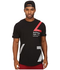 Staple Contagion Scoop Tee Black Men's T Shirt