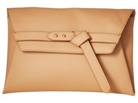Vince Camuto Aggie Clutch Nude Clutch Handbags Beige