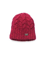 Under Armour Around Town Cable Knit Beanie Pink
