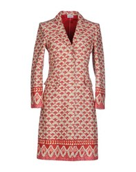Philosophy Di Alberta Ferretti Coats And Jackets Full Length Jackets Women Red