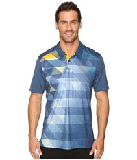Oakley Jolt Polo Blue Shade Men's Short Sleeve Knit